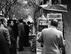 Franco ha muerto - Ramblas, Barcelona 1975 by Colita