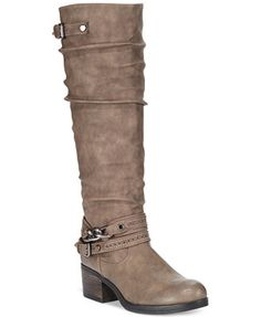 Carlos by Carlos Santana Cassie Boots i love the taupe! size 7 1/2 wide calf!