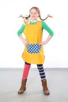 Kostenlose Verkleidung: Pippi Langstrumpf zum Basteln