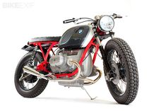 BMW R75/6 by Maria Motorcycles   what can I say I'm just not a Harley girl but this is cute!