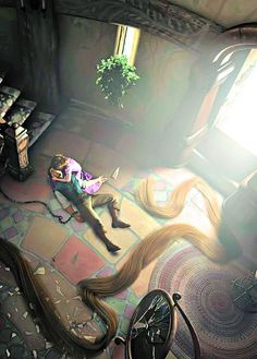 Guys. Do you see the beauty? Do you see Eugene's hand? The hair and the broken glass. The sunlight. It's too much! It's so gorgeous!