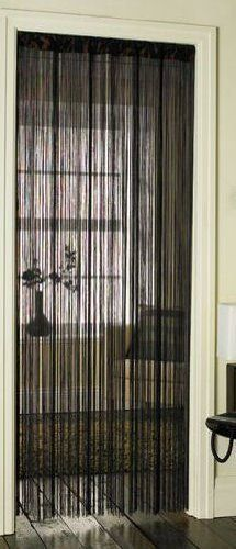 Tassell Fringe Door Curtain Divider Black 90 x 200 by the linen depot, http://www.amazon.co.uk/dp/B001A2IW5M/ref=cm_sw_r_pi_dp_ym7xrb0ETJ27R get one now to stop the flys and bugs coming in I bought 2 off Amazon uk for £5.16 each brilliant
