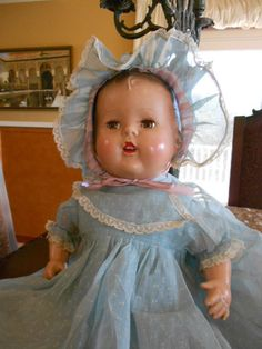 Composition Mama Doll All Original 1930's