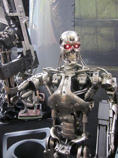 Terminator Endoskeleton by Sideshow Collectibles - 2012 SDCC #terminator #sideshowcollectibles #sdcc