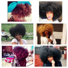 Taren Guy knows how to rock color on her natural hair