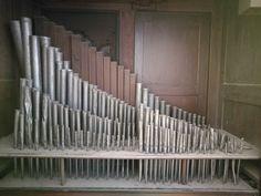 Tubos no interior da caixa do órgão Texture, Wood, Interior, Box, Surface Finish, Woodwind Instrument, Indoor, Timber Wood, Trees