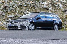 Volkswagen Golf R Estate facelift  pictures...