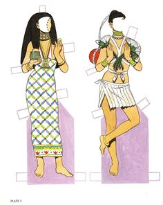 Egyptian Paper Doll | Posted 6th August 2011 by Mrs V