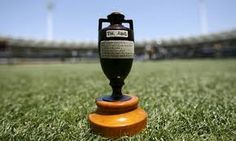 The Ashes cricket trophy - worth all that effort!