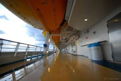 Cruise Photo of the Day - June 21, 2012.  Swab the Deck. Mariner of the Seas.  More cruise ship photos at CruiseCrazies.com.  #cruise #cruising #cruiseship #cruisevacation #cruisecrazies