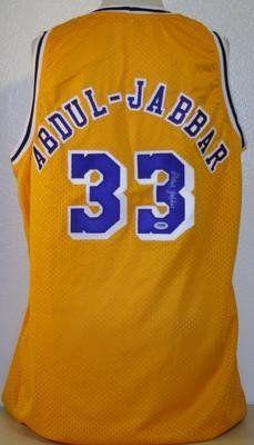 7ae3589be54 Kareem Abdul-Jabbar Autographed Jersey - Autographed NBA Jerseys by Sports  Memorabilia. $315.11. KAREEM ABDUL-JABBAR SIGNED LAKERS JERSEY AUTHENTIC ...