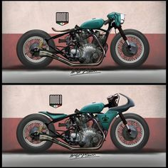 Carberry design by Inline3 Custom Motorcycles #custommotorcycles #motoscustom | caferacerpasion.com