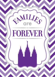 Families Are Forever (2014 LDS Primary Theme) printable by havejoy