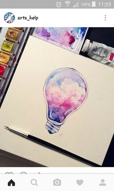 Paint an idea and light it up.