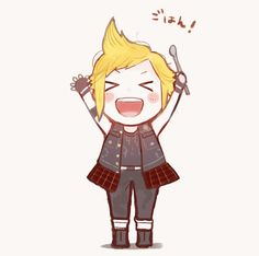 I' Final Fantasy Xv Prompto, Final Fantasy Artwork, Fantasy Series, Prompto Argentum, Cg Artwork, Cartoon Shows, Manga Games, Game Art, Chibi