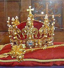 Korona Boleslawa Chrobrego - Polish Crown Jewels - Wikipedia, the free encyclopedia Royal Crown Jewels, Royal Crowns, Royal Jewelry, Tiaras And Crowns, Bling Jewelry, Royal Tiaras, Jewellery, Be Brave Tattoo, Royal Beauty