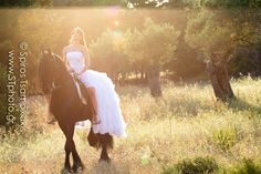 day after session on a beatiful summer evening at Rhodes island , Greece. Sofia was a beatiful bride and very open minded . it was a dream come true for her to do a photo shoot with a horse ...so i'm glad i helped her with that!