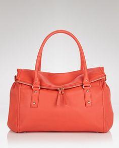 "kate spade satchel in ""cinnabar""... love this color"