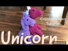 How to Crochet a Unicorn - YouTube