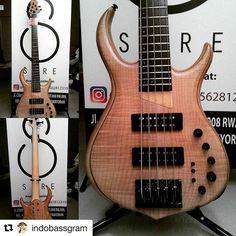 @bassmusicianmag #Repost @indobassgram ・・・ #Rebass @tgouh ・・・ For Sale: Sire Marcus Miller M7 5str Bass Ash Natural. Be a… #BassMusicianMag