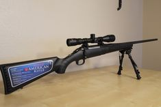 Ruger bolt action 308 american rifle black tactical with scope- dream gun right here Bear Hunting, Hunting Rifles, Bolt Action 308, Ruger American Rifle, M&p 9mm, Fire Powers, Firearms, Shotguns, Shotgun