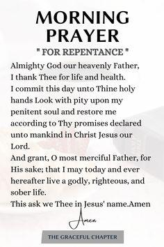 Daily Morning Prayer, Powerful Morning Prayer, Morning Prayer Quotes, Morning Prayers, Powerful Prayers, Prayer Of Praise, Prayer Scriptures, Bible Prayers, Faith Prayer