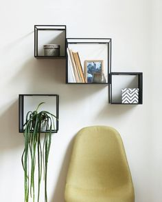 Arrange the cube-shaped shelves any way you want. In stores now. Prices from DKK 87,00 / SEK 119,00 / NOK 119,00 / EUR 11,96 / ISK 2379 / GBP 9,98 Sizes 20x20x20 cm, 24x24x24 cm and 28x28x28 cm. Max 2 kg. NB! The chair is not available for purchase in Ireland and UK. Søstrene Grene's interior catalogue is available online on www.sostrenegrene.com. You can find the link in the bio. #shelves #metal #newcollection #inspiration #sostrenegrene #søstrenegrene #grenehome
