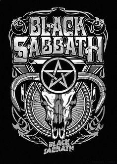 black sabbath poster