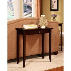 Rosewood Console Table, Coffee Brown - Walmart.com