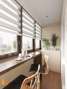 балкон дизайн внутри 5