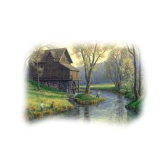 - Fonds Villages Maisons - ❤ liked on Polyvore featuring tubes, backgrounds, scenery, landscape, fades and fillers