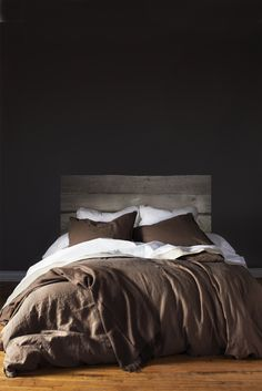 We have all the barn wood you need to make this headboard at auroramills.com in Aurora, OR.