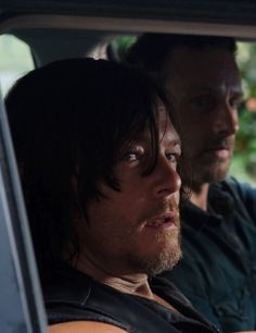 Rick Grimes and Daryl Dixon The Walking Dead Season 6 Episode 10 'The Next World'