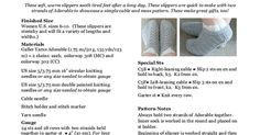 Cabled Cozies Slippers Pattern.pdf