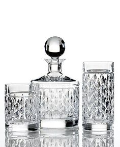 Lauren Ralph Lauren Drinkware, Set of 4 Aston Double Old-Fashioned Glasses - Barware - Dining & Entertaining - Macy's Bridal and Wedding Registry