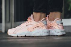 info for d1ab6 50173 Nike Air Huarache Run Sunset Tint White Pink Gum 634835 607 Women Size Auth