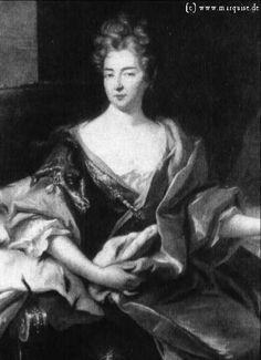Eleonore Louise Erdmuthe von Sachsen-Eisenach by Silvestre, 1720  Gemäldegalerie Alte Meister, Dresden