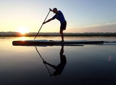 Early morning sunrise paddle on the beautiful May River... SUP paddling adventures with www.StandandPaddle.com