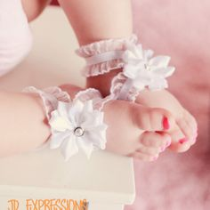 Summer Cool Infant Kids Baby Boy Sole Crib Barefoot Ring Flower Pearl Shoes 2019