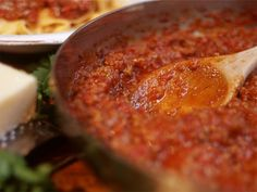 Bolognese Sauce Recipe from Chef  David Rocco.