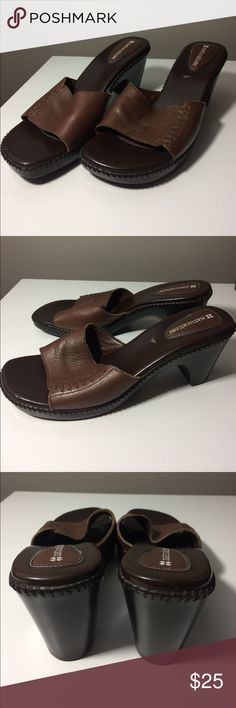 Naturalizer Brown Open Toe Zipster Sandals Naturalizer Like New Brown Open Toe Zipster Sandals Naturalizer Shoes Sandals