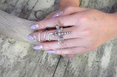 Silver midi ring boho dragonfly ring bohemian by TrueRebelClothing, $12.00