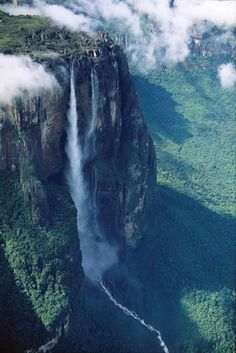 Secrets of Angel Falls on the Venezuela border.