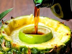 Pineapple Jägerbomb