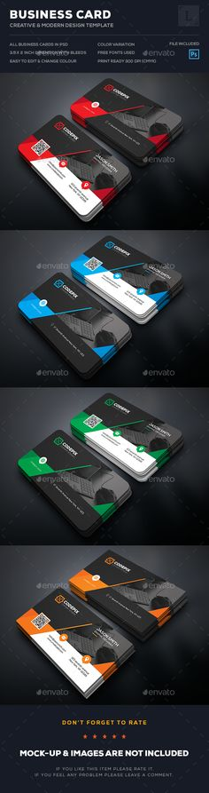 Business Card Template PSD. Download here: https://graphicriver.net/item/business-card/17292386?ref=ksioks