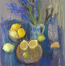 Felicity House - Hyacinths & Lemons, Pastel