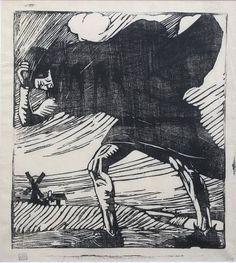 Mabel A. Royds, woodcut
