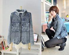 Jaqueta jeans (frete grátis) - Lady Dragon - $97.90