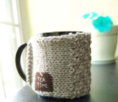 Wooly Cup Warmers : Coffee Tea Mug Cozy