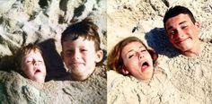 Esto es lo que suceden cuando los adultos recrean sus fotos más divertidas de cuando eran pequeños - http://dominiomundial.com/esto-es-lo-que-suceden-cuando-los-adultos-recrean-sus-fotos-mas-divertidas-de-cuando-eran-pequenos/